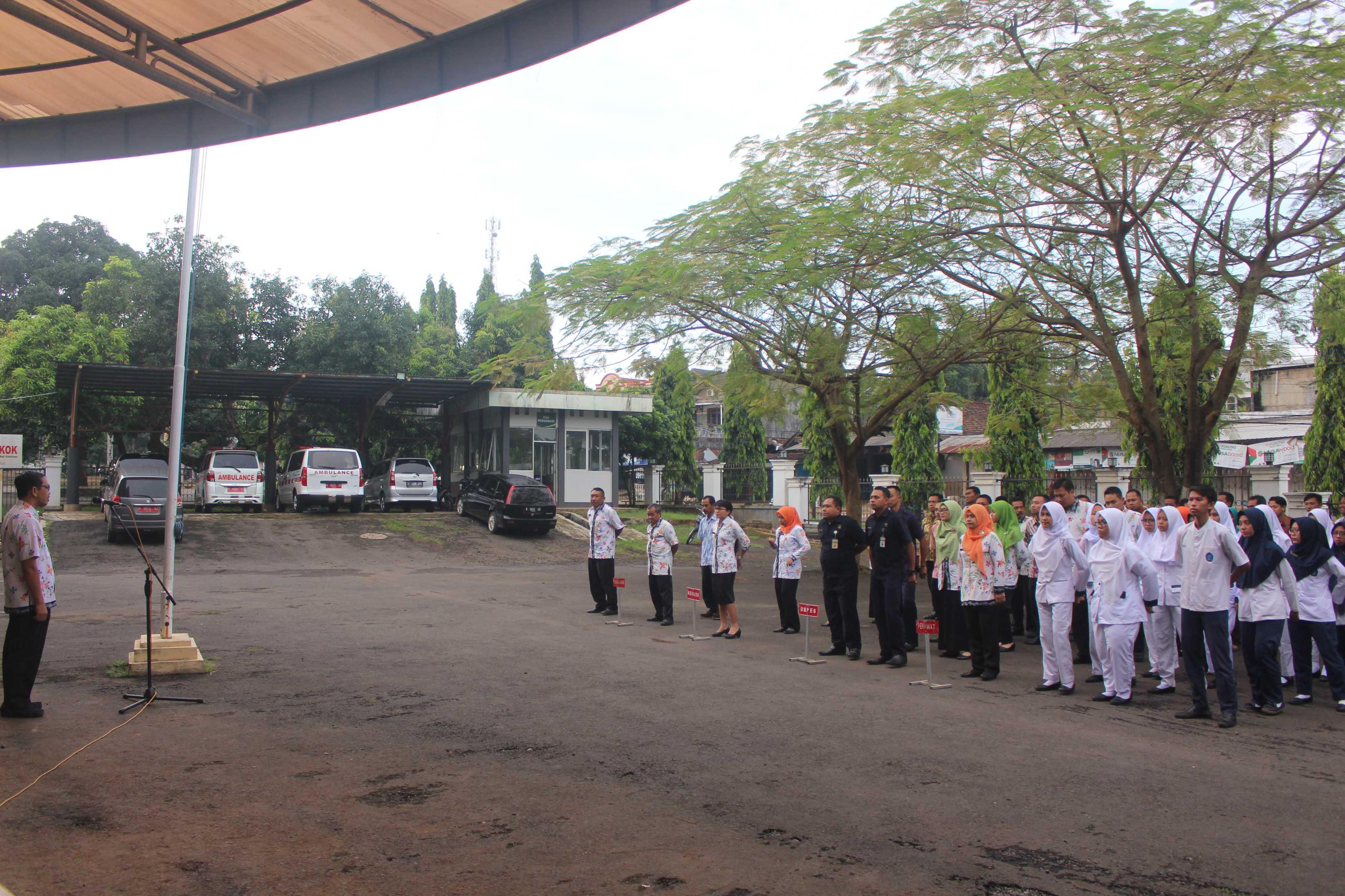 Apel Pagi Civitas Hospitalia RSUD Kelet 27 Maret 2019